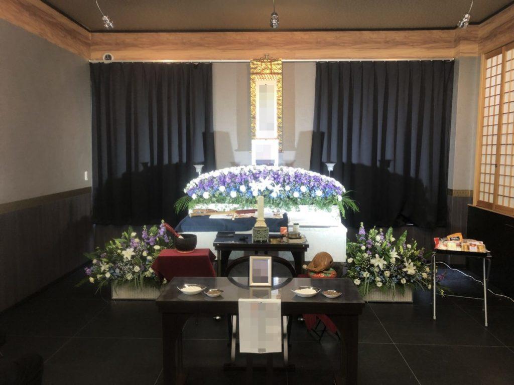 2020年2月10日 家族葬を執り行いました。